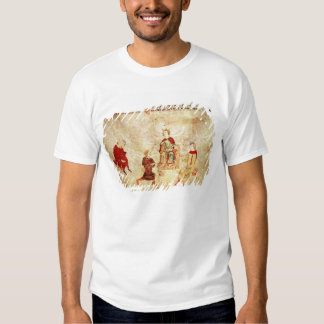 King Arthur on his Throne Surrounded Tee Shirt