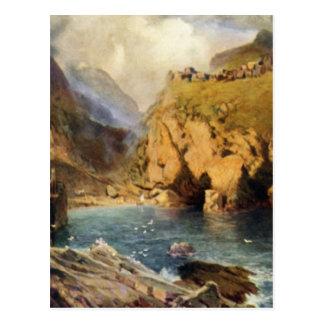 King Arthur s Castle in Camelot Postcards