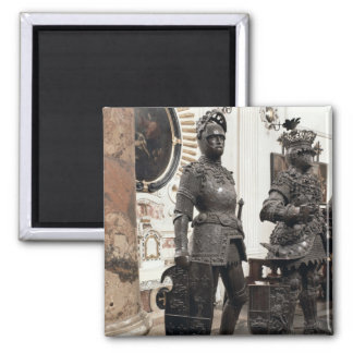 King Arthur, statue from the tomb of Maximilian Fridge Magnets