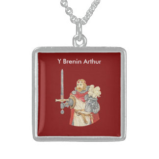 King Arthur Sterling Silver Necklace