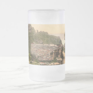 King Arthur's Castle I, Tintagel, Cornwall Frosted Glass Beer Mug