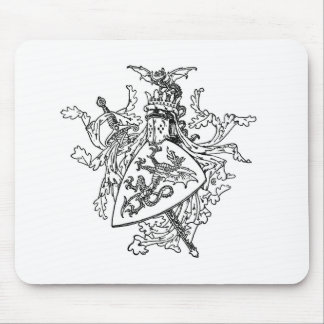 King Arthur's Coat of Arms Mouse Pads
