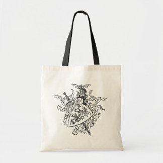 King Arthur's Coat of Arms Tote Bag
