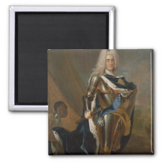 King Augustus II of Poland, before 1730 Magnet