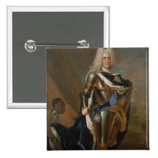 King Augustus II of Poland, before 1730 Pinback Button