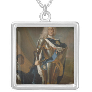 King Augustus II of Poland, before 1730 Silver Plated Necklace