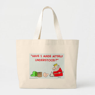 King axe execution tote bags