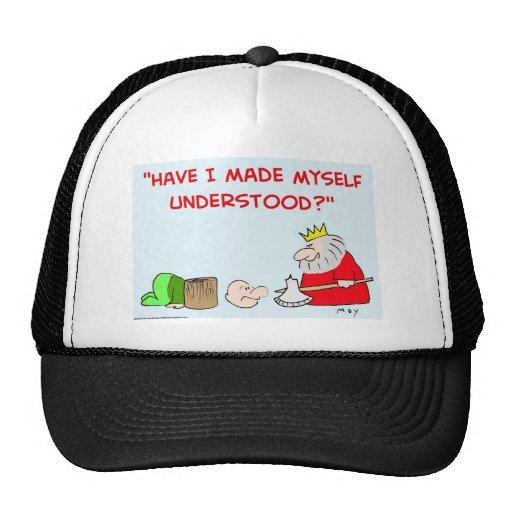 King axe execution trucker hat