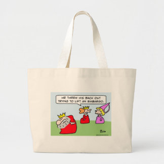 king back out lift embargo tote bags