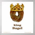 King Bagel Posters
