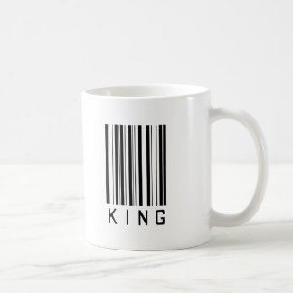 King Bar Code Mug