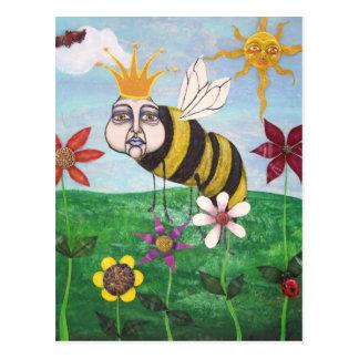 king bee post card