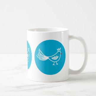 King Bird Blue Mug
