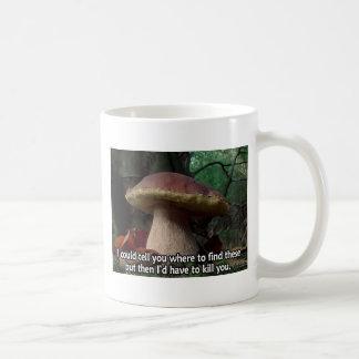 King Bolete - I'd Have to Kill You Classic White Coffee Mug
