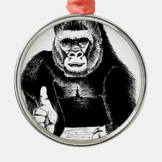 King Bongo Oh Yes! Metal Ornament