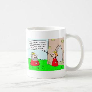 king bread  milk commandeer queen coffee mugs