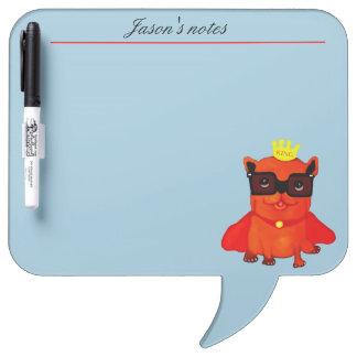 King Bulldog illustration Dry-Erase Board