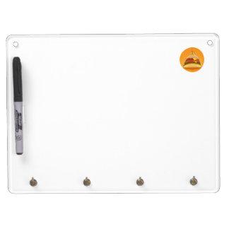 King Burger Dry Erase White Board