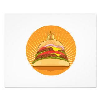 King Burger Flyers