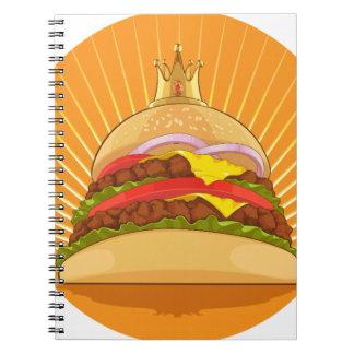 King Burger Spiral Note Books