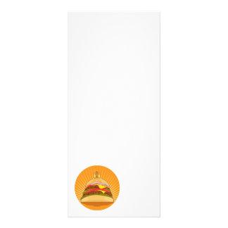King Burger Custom Rack Card