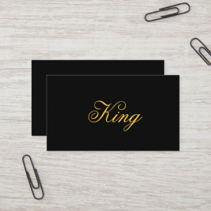 King business cards zazzle king business cards colourmoves