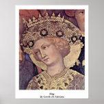 King By Gentile Da Fabriano Poster