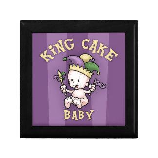 King Cake Baby Jewelry Box