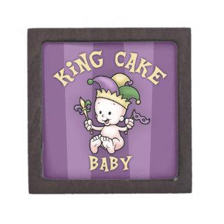King Cake Baby Premium Trinket Boxes