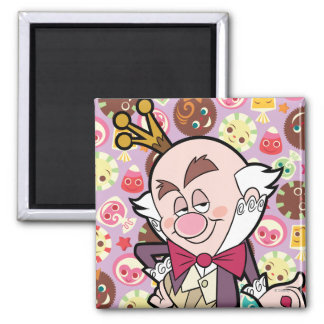 King Candy 2 2 Inch Square Magnet