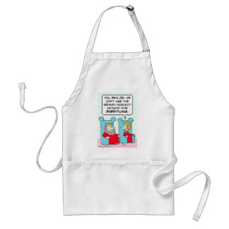 King can't use benign neglect for everything. adult apron