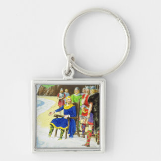 King Canute (c.995-1035) from 'Peeps into the Past Key Chain