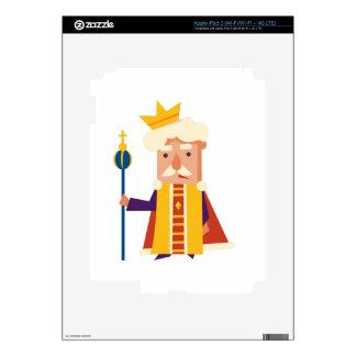 King Cartoon character iPad 3 Skin