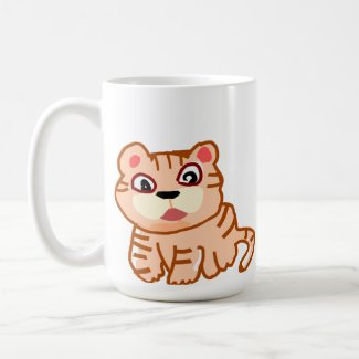 King Cat Coffee Mug