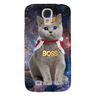 king cat in the space galaxy s4 cover