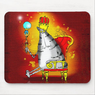 King cat mouse pad