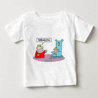 king cat throne treason baby T-Shirt
