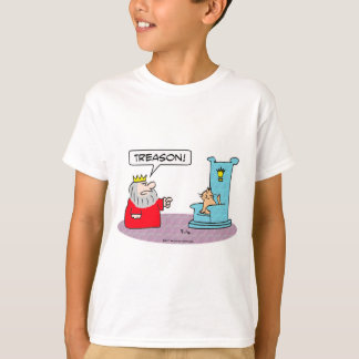 king cat throne treason T-Shirt