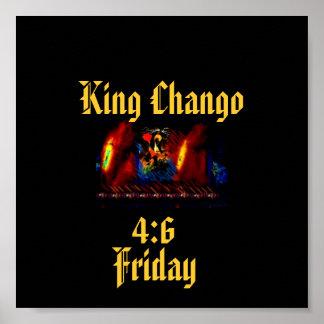 King Chango Poster