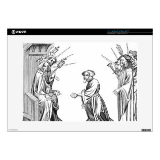 King Charlemagne (742-814) receiving the Oath of F Laptop Skin