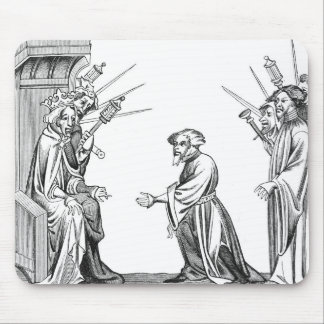 King Charlemagne (742-814) receiving the Oath of F Mouse Pad