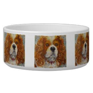 King Charles Cavalier Spaniel Dog Bowl