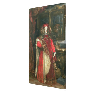 King Charles II of Spain Stretched Canvas Print