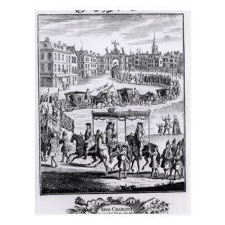 King Charles II Postcard