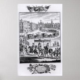 King Charles II Poster