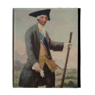 King Charles III (1716-88) as a Huntsman, 1786/88 iPad Folio Covers