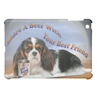 King Charles Share A Beer IPAD CASE