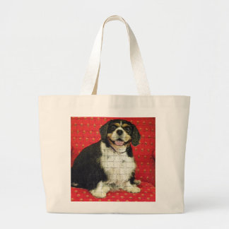 KING CHARLES SPANIAL CANVAS BAGS