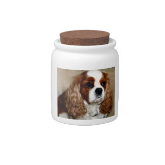 King Charles Spaniel Candy Jar