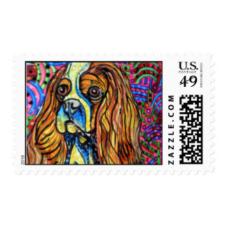 King Charles Spaniel Stamp